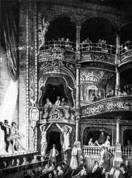 Photo:Interior of the Metropolitan Theatre, Edgware Road showing the stage and part of auditorium 1910
