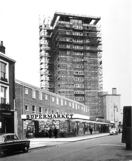 Photo:Church Street Supermarket, where Tesco now stands 1961
