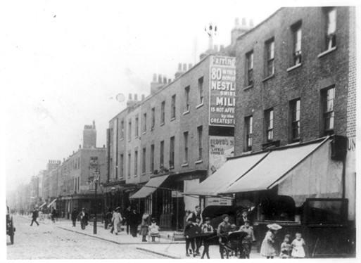 Photo:View of Broadley Street c.1900