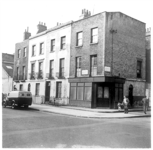 Photo:View of Broadley Street at junction with Penfold Street 1961