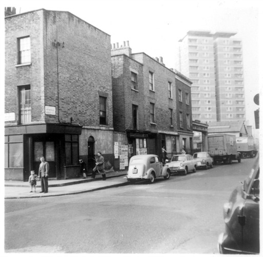Photo:View of Broadley Street looking North along Penfold Street towards Church Street 1960s