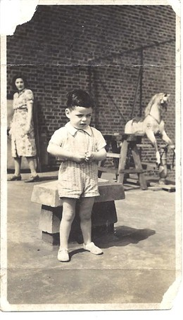 Photo:Here I am three years old, at the Four Feathers Club